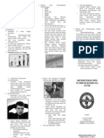 Leaflet Cara Mendeteksi Dini Tumbuh Kembang Anak