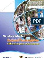 Panduan Memahami Kebijakan Nasional Air Minum Dan Penyehatan Lingkungan Berbasis Masyarakat Serta Operasionalisasinya