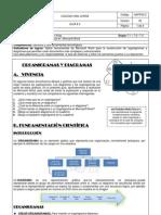 Guía 4 - Organigramas y diagramas
