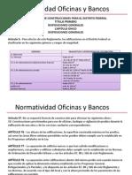 NORMATIVIDAD OFICINAS