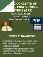 GPS Basic Concepts