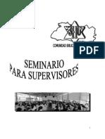 Seminario Para Supervisores