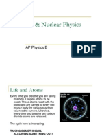 AP Physics B - Atomic and Nuclear Physics