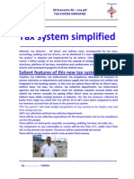 Tax System Simplified