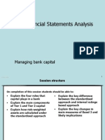 Managing Bank Capital