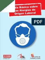 Guía básica sobre las alergias de origen laboral