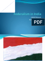 Akhil Mahesh(734) - Federalism in India