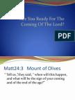 Parable of 10 Virigins
