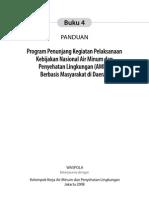 Panduan Program Penunjang Kegiatan Pelaksanaan Kebijakan Nasional Air Minum Dan Penyehatan Lingkungan Berbasis Masyarakat (AMPL-BM) Di Daerah