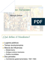 Muralismo Mexicano Hannah Gilman