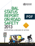 Global Status Report on Road Safety 2013 (en)