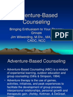 adventure-based counseling 2009