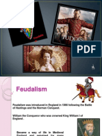 Feudalism and the Tudors