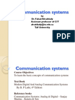 Communication Systems Chapter 1 Term 2 1433-1434