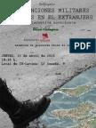 """Charla debate """"intervenciones en el exterior"""""""