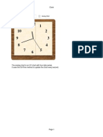 Clock Chart