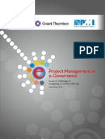 PMI & NISG Special Report on 'Project Management in e-Governance in India'