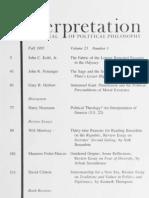 Interpretation, Vol 23-1