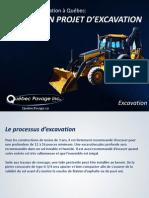 Entreprise d'Excavation à Québec