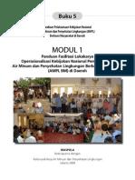 Panduan Lokalatih Keterampilan Dasar Fasilitasi Dalam Rangka Pelaksanaan Kebijakan Nasional Pembangunan Air Minum Dan Penyehatan Lingkungan Berbasis Masyarakat (AMPL-BM) Di Daerah