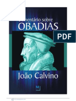 Comentário de Calvino sobre OBADIAS