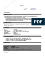 (1+ Experience)Java Resume-4
