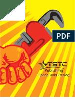 TSTC Publishing Spring 2009 Catalog