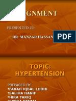 hypertension. prepared by:lodhi. Dow univ of health n sciences.
