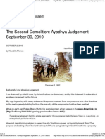 The Second Demolition_ Ayodhya Judgement September 30, 2010 _ Kafila.pdf