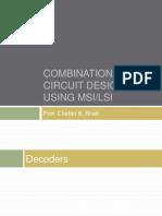 Combinational Circuit Design Using Msi