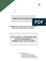 Guía para la revisión del lenguaje