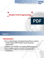 133798929 Module Pool Programming
