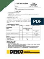 Fisa Tehnica Amorsa Deko A8500