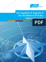 Capability and Cap of Uk Offshore
