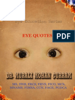 EYE QUOTES-Dr. Murali Mohan Gurram
