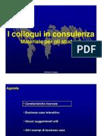 Materiale Per Gli Studenti Sui Colloqui in Consulenza