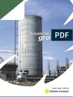 Dalmia Annual Report 2007-2008