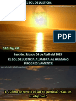 Lección 14 - El sol de justicia