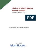Es Sobre La Hermandad en El Islam y Algunos Buenos Modales