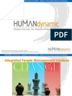 "Human Dynamic Co. Introduction - ""A Global Partner for People Effectiveness """