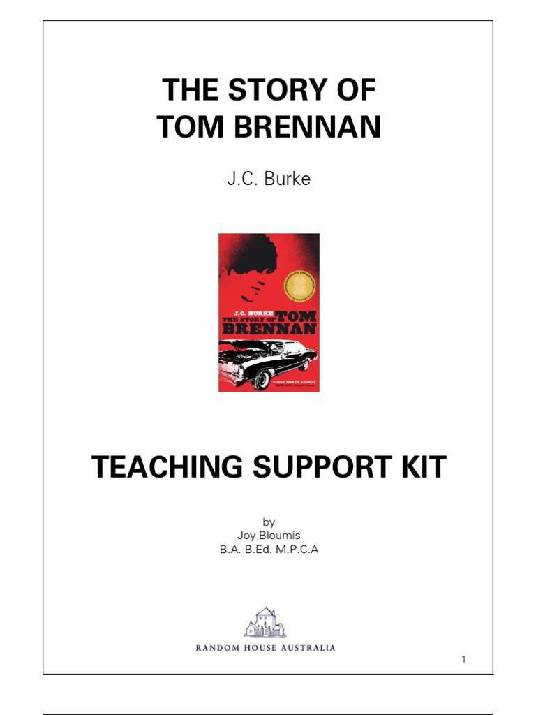 Tom Brennan | Adolescence | Substance Abuse