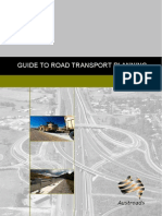 Guide to Road Transport Planning