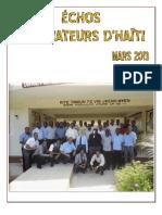 Échos des viateurs d'haïti - mars 2013