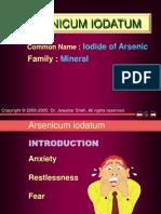 Arsenicum-Iod Materia Medica