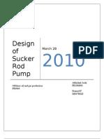 80543493 Design of Sucker Rod Pump