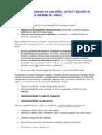 Formele şi documentarea operaţiilor privind vânzările de mărfuri prin unităţile de comerţ