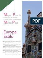 Circuitos Mejor Precio por Europa 2013. Mapaplus