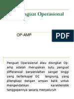 Operasional Amplifier
