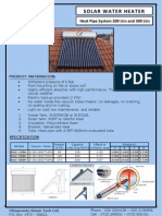 Heat Pipe Specifications and Accessories