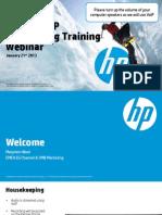 HP2920SwitchSeriesEMEAPartnerWebinar